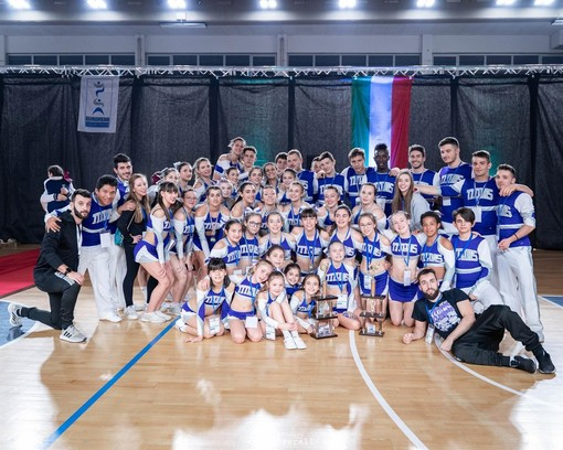 Alba Cheer: brillante esordio al Tuscany Cheer Open